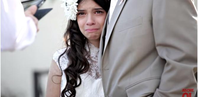 Babası Tarafından On Bir Yaşındaki Çocuğuna Düğün !
