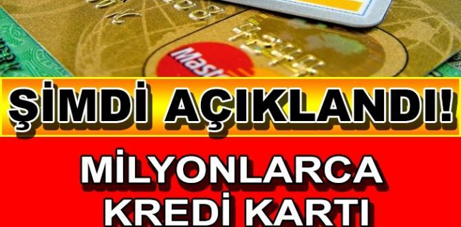 Milyonlarca Kredi Kartı Sahiplerini Sevince Boğan Haber..