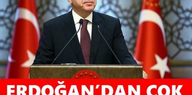 Erdoğan'dan Önemli Açıklama: Çifte Bayram Vurgusu