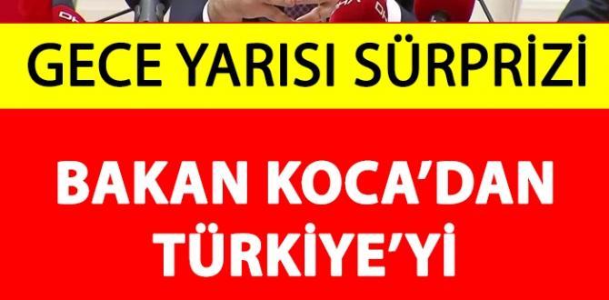 Fahrettin Koca'dan Türkiye'yi Heyecanlandıran Duyuru