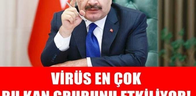 Virüs En Çok Bu Kan Grubunu Etkiliyor!Bu Kan Grubunda Olanlar Dikkat!