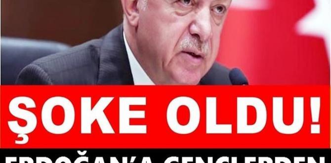 Erdoğan'a Gençlerden Canlı Yayında Protesto!