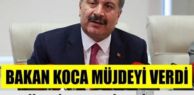 Sağlık Bakanı Koca'nın yeni açıklamaları