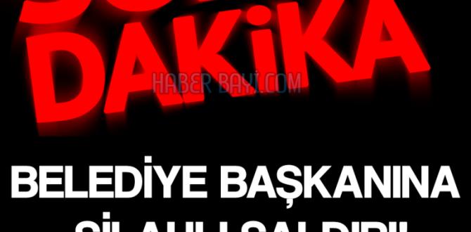 AKP BELEDİYE BAŞKANI