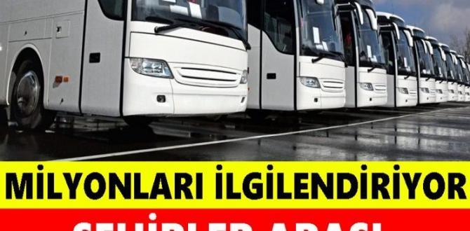 Şehirler Arası Otobüsler Hakkında Yeni Karar