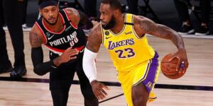 LeBron James'in müthiş oyunu Lakers'a yetmedi!